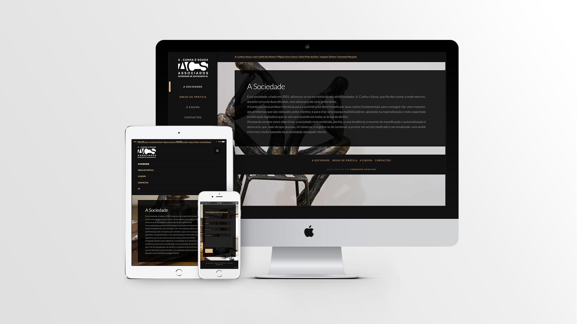 advogados-responsive design-formulário-web design