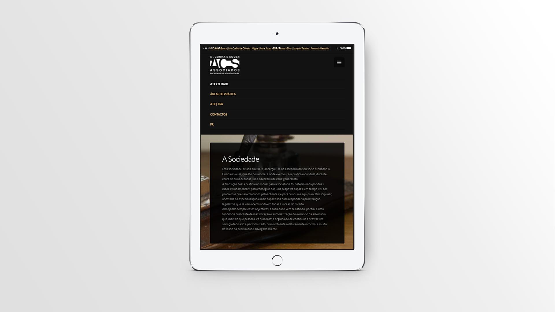 advogados-tablet-responsive design-formulário-web design
