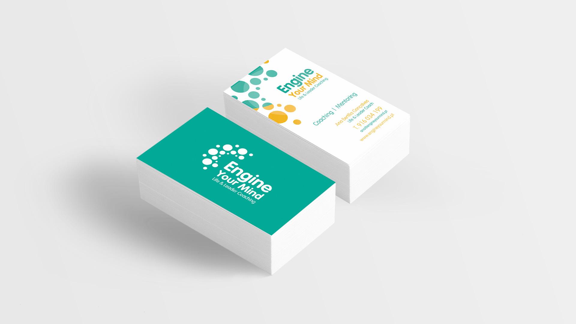 Engine Your Mind-Cartão de visita-publicidade-design grafico