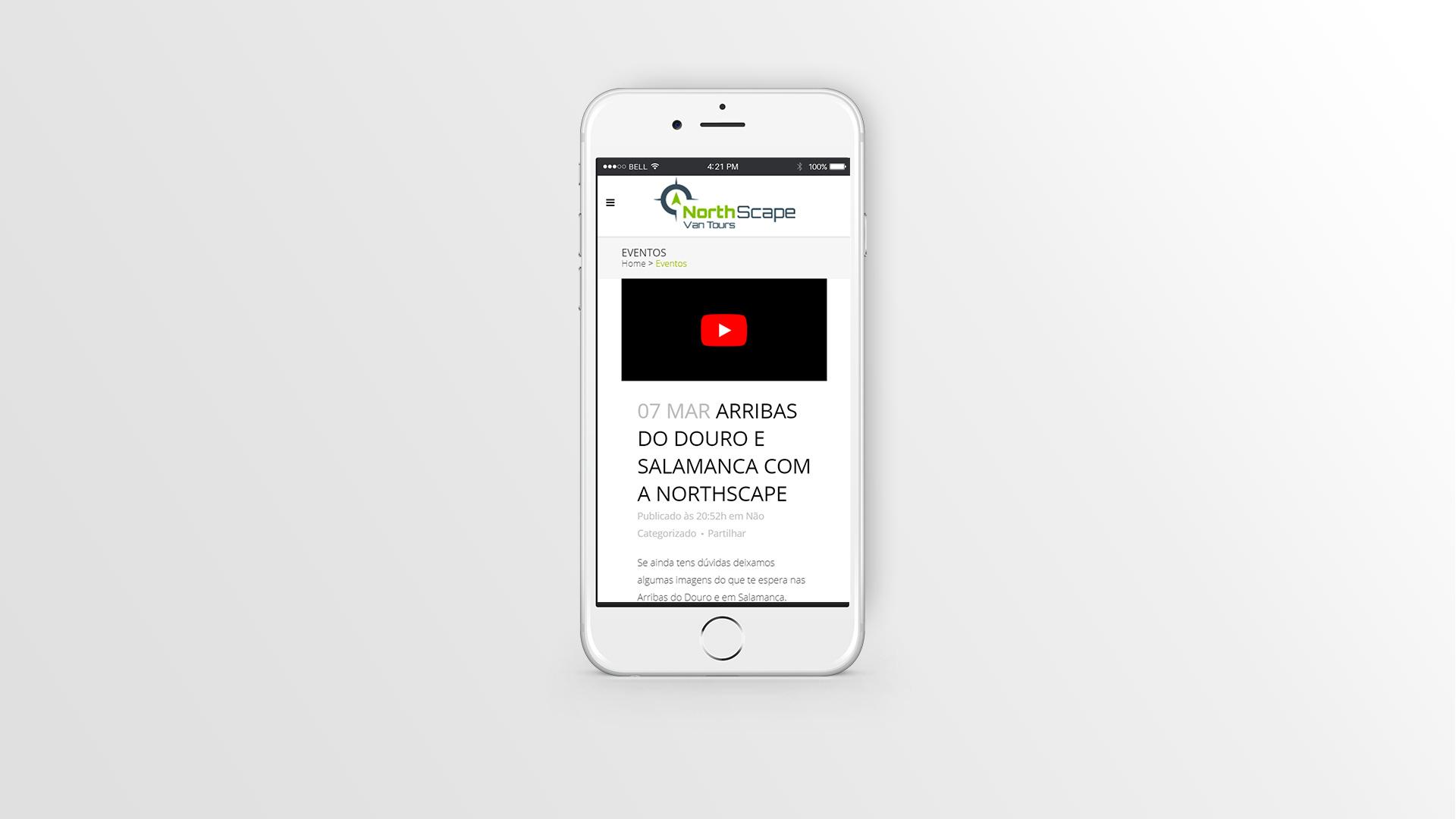 NorthScape-web design-móbil -marketing digital-publicidade-tour