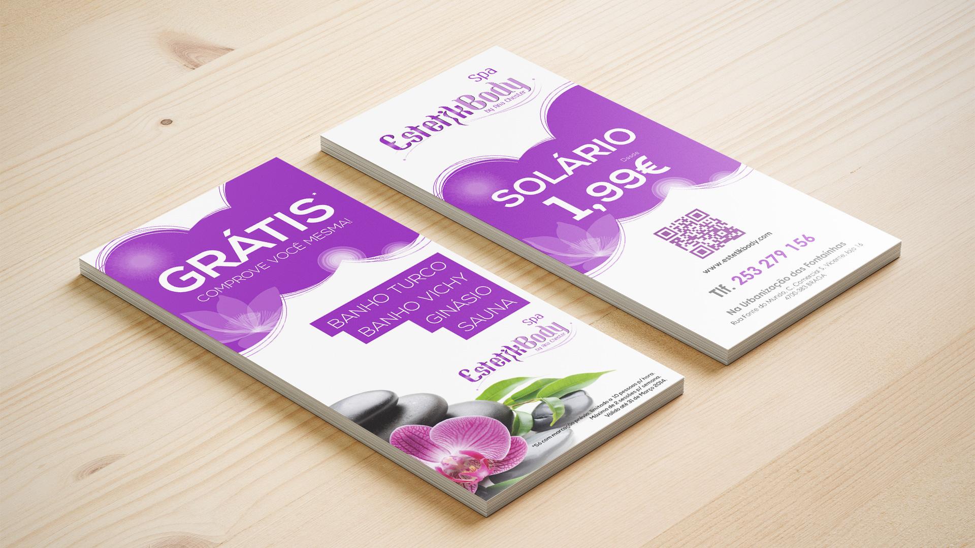 flyer-estetikbody spa-design gráfico-publicidade