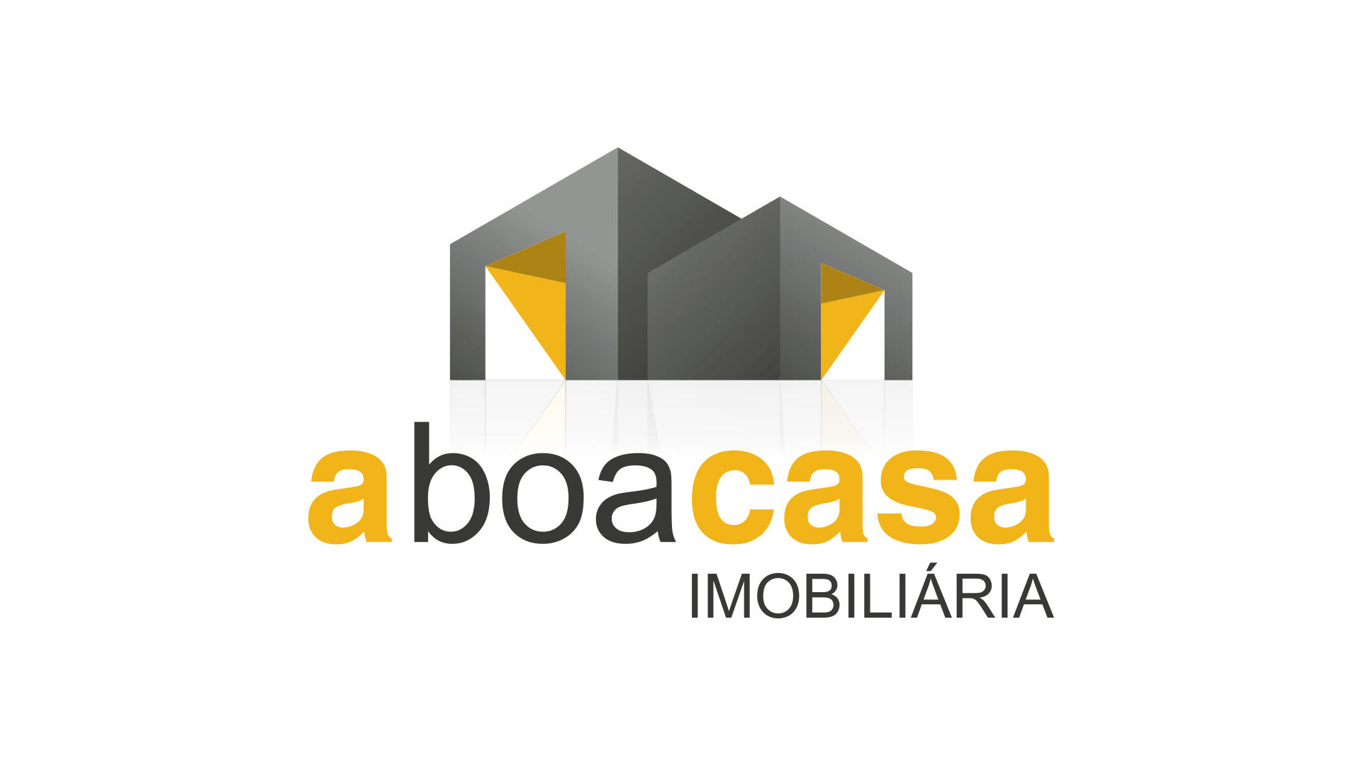 a boa casa-logotipo-imobiliária-design gráfico-publicidade