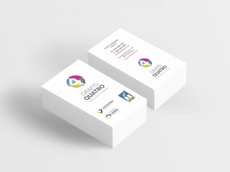 grafisquatro-identidade visual-cartão de visita