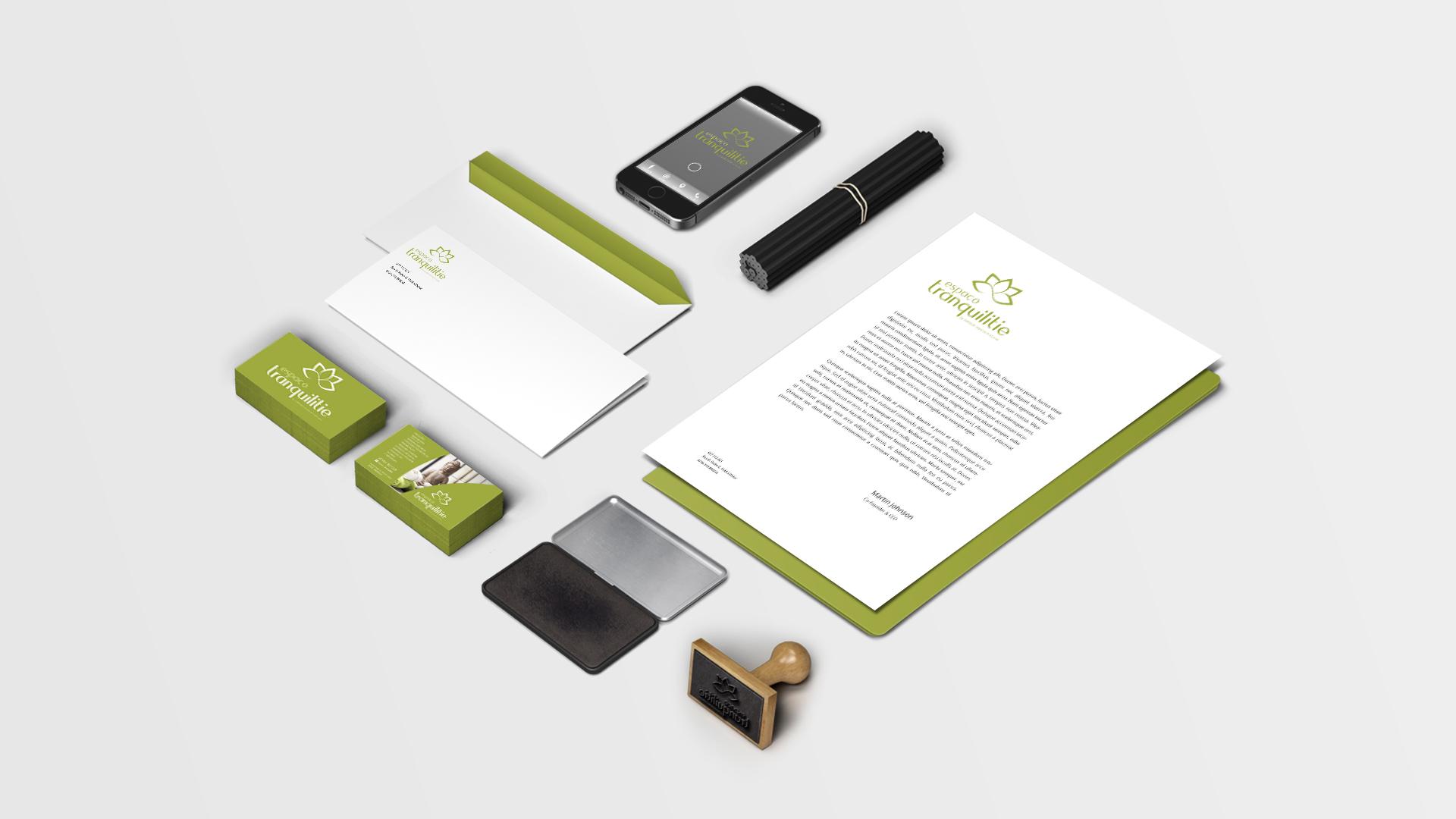 espaço tranquiliti-estacionario-publicidade-design gráfico