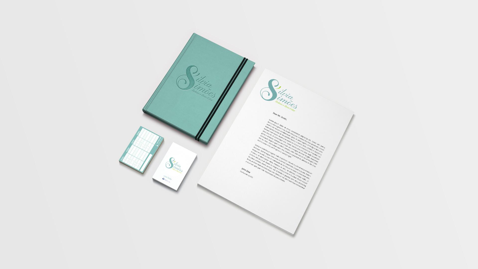 Silvia Simões-Identidade visual-estacionário-imagem gráfica