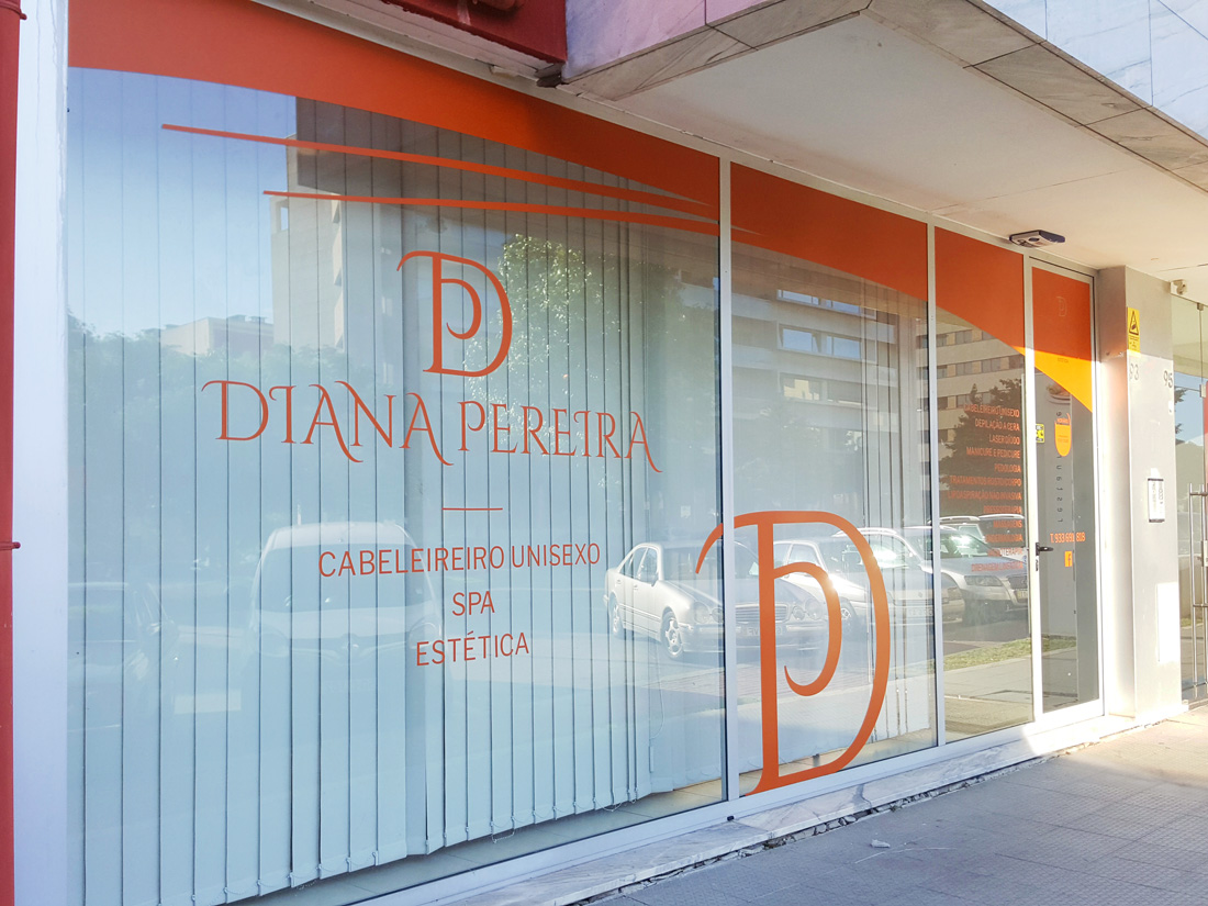 Montra-Diana Pereira-publicidade-cabeleireira-designgráfico