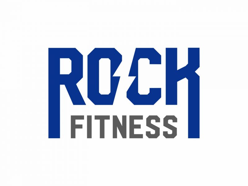 Logótipo Rock Fitness